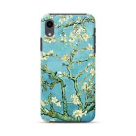 名画:花咲くアーモンドの枝 ファンセント・ファン・ゴッホ iPhone XR ハイブリッド タフケース