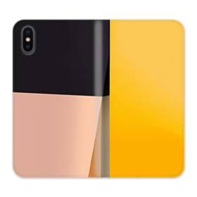オリジナル iPhone XSケース 手帳型皮革 スマホケース印刷