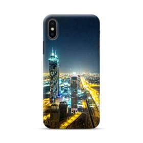ザ・シティー夜景01 iPhone XS ポリカーボネート ハードケース
