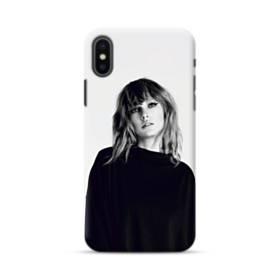 世界の彼女:テイラー・スウィフト01 iPhone XS ポリカーボネート ハードケース