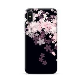 爛漫・桜 iPhone XS ポリカーボネート ハードケース