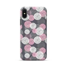 デザイン 花のモチーフ iPhone XS ポリカーボネート ハードケース