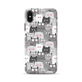 多くの子猫 iPhone XS ポリカーボネート ハードケース