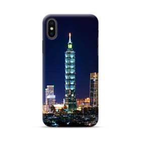ザ・高層ビル iPhone XS ポリカーボネート ハードケース