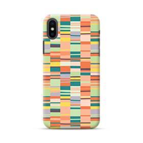 彩りアートなパターン iPhone XS ポリカーボネート ハードケース