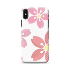 可愛い・桜シリーズ01 iPhone XS Max ポリカーボネート ハードケース