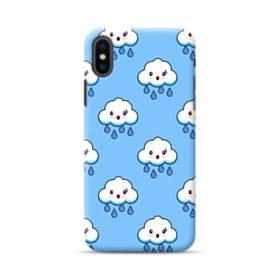 雨雲キャラクター iPhone XS Max ポリカーボネート ハードケース