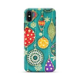 メリー クリスマス デコレーション  iPhone XS Max ポリカーボネート ハードケース