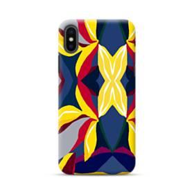 アートなパターン(暖かい色系) iPhone XS Max ポリカーボネート ハードケース