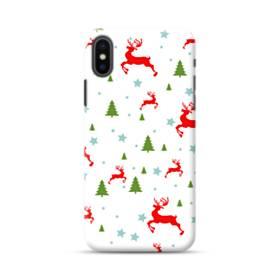 メリー クリスマス モチーフ001 iPhone XS Max ポリカーボネート ハードケース