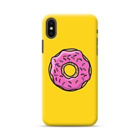 おいしいドーナツ iPhone XS Max ポリカーボネート ハードケース