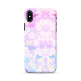 爛漫・抽象的な桜の花 iPhone XS Max ポリカーボネート ハードケース
