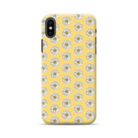 フラワー・カモミールのパターン iPhone XS Max ポリカーボネート ハードケース