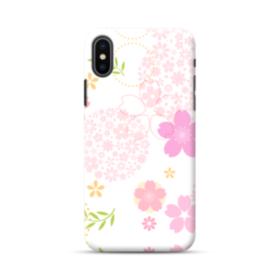 桜の形・いろいろ iPhone XS Max ポリカーボネート ハードケース