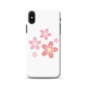 春・桜の花002 iPhone XS Max ポリカーボネート ハードケース