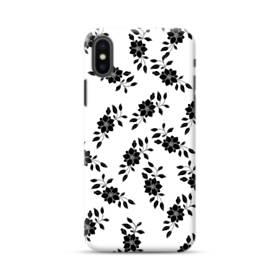 花 モチーフ flower motif iPhone XS Max ポリカーボネート ハードケース