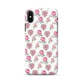 バラ モチーフ iPhone XS Max ポリカーボネート ハードケース