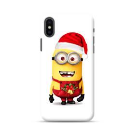 メリー クリスマス キュートなミニオンズ iPhone XS Max ポリカーボネート ハードケース
