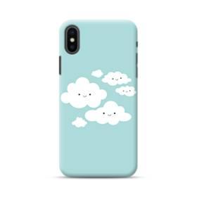 可愛いスマイル雲ちゃん iPhone XS Max ポリカーボネート ハードケース