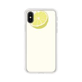 ザ・果物(ライム)のアート iPhone XS Max TPU クリアケース