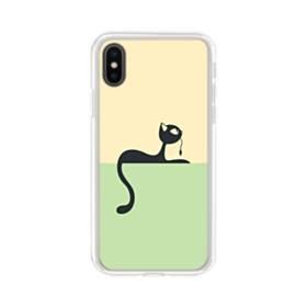 デザイン 猫ちゃん iPhone XS Max TPU クリアケース
