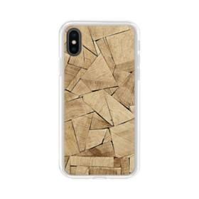 積み木のアート iPhone XS Max TPU クリアケース