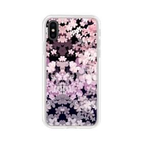 爛漫・夜桜 iPhone XS Max TPU クリアケース