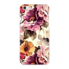 墨絵のようなアート・花 iPhone 5C ポリカーボネート ハードケース