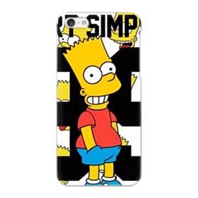 人気のバート・シンプソンちゃん  iPhone 5C ポリカーボネート ハードケース