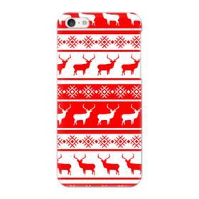 北欧風クリスマス モチーフ iPhone 5C ポリカーボネート ハードケース