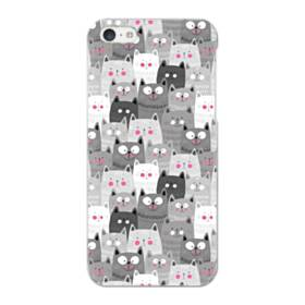 多くの子猫 iPhone 5C ポリカーボネート ハードケース