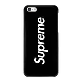 ニューヨークよりブラック・スーパー・ミ(super me) iPhone 5C ポリカーボネート ハードケース