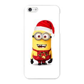 メリー クリスマス キュートなミニオンズ iPhone 5C ポリカーボネート ハードケース