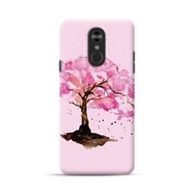 水彩画・桜の木 LG Stylo 4 ポリカーボネート ハードケース