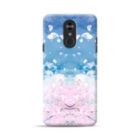 桜の花びら LG Stylo 4 ポリカーボネート ハードケース