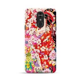 和・花魁&桜 LG Stylo 4 ポリカーボネート ハードケース