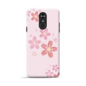 春・桜の花001 LG Stylo 4 ポリカーボネート ハードケース
