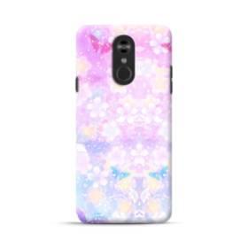 爛漫・抽象的な桜の花 LG Stylo 4 ポリカーボネート ハードケース