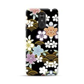 和風・桜&浪 LG Stylo 4 ポリカーボネート ハードケース
