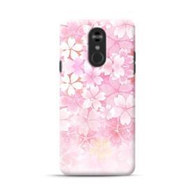 爛漫・ピンク&桜色 LG Stylo 4 ポリカーボネート ハードケース