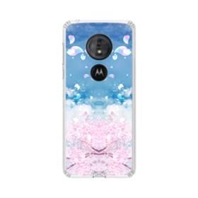 桜の花びら Moto G6 Play TPU クリアケース