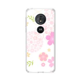 桜の形・いろいろ Moto G6 Play TPU クリアケース