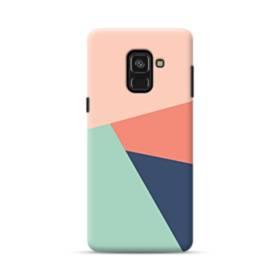 デザイン・アートな色のパターン002 Samsung Galaxy A8 (2018) ポリカーボネート ハードケース