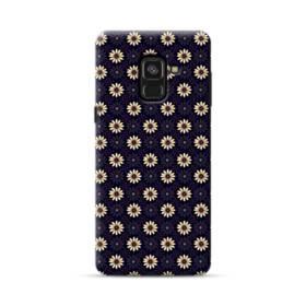 カモミールのパターン002 Samsung Galaxy A8 Plus (2018) ポリカーボネート ハードケース