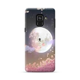 爛漫・夜桜&私たち Samsung Galaxy A8 Plus (2018) ポリカーボネート ハードケース