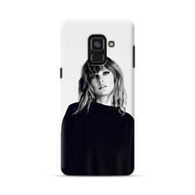 世界の彼女:テイラー・スウィフト01 Samsung Galaxy A8 Plus (2018) ポリカーボネート ハードケース