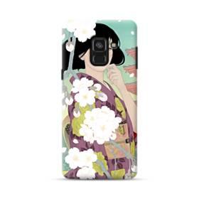 ザ・桜&ジャパンガール! Samsung Galaxy A8 Plus (2018) ポリカーボネート ハードケース