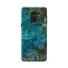 エメラルド Samsung Galaxy A8 Plus (2018) ポリカーボネート ハードケース