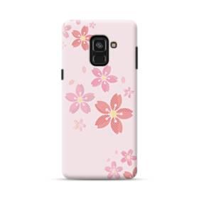 春・桜の花001 Samsung Galaxy A8 Plus (2018) ポリカーボネート ハードケース