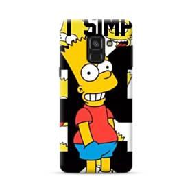 人気のバート・シンプソンちゃん  Samsung Galaxy A8 Plus (2018) ポリカーボネート ハードケース
